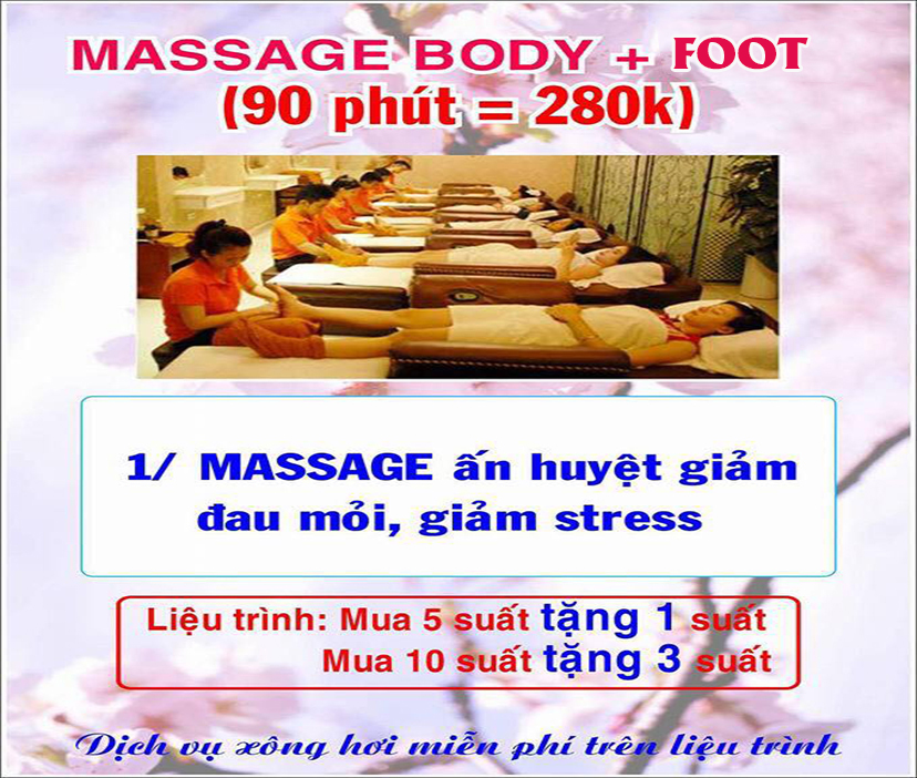 Massage body - Food
